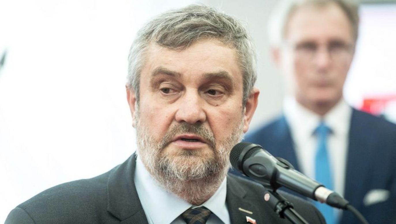 Jan Krzysztof Ardanowski był m.in. doradcą prezydenta RP Lecha Kaczyńskiego (fot. arch.PAP/Tytus Żmijewski)