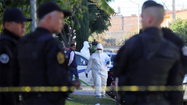W Meksyku trwa wojna gangów (fot. PAP/EPA/CARLOS ZEPEDA)