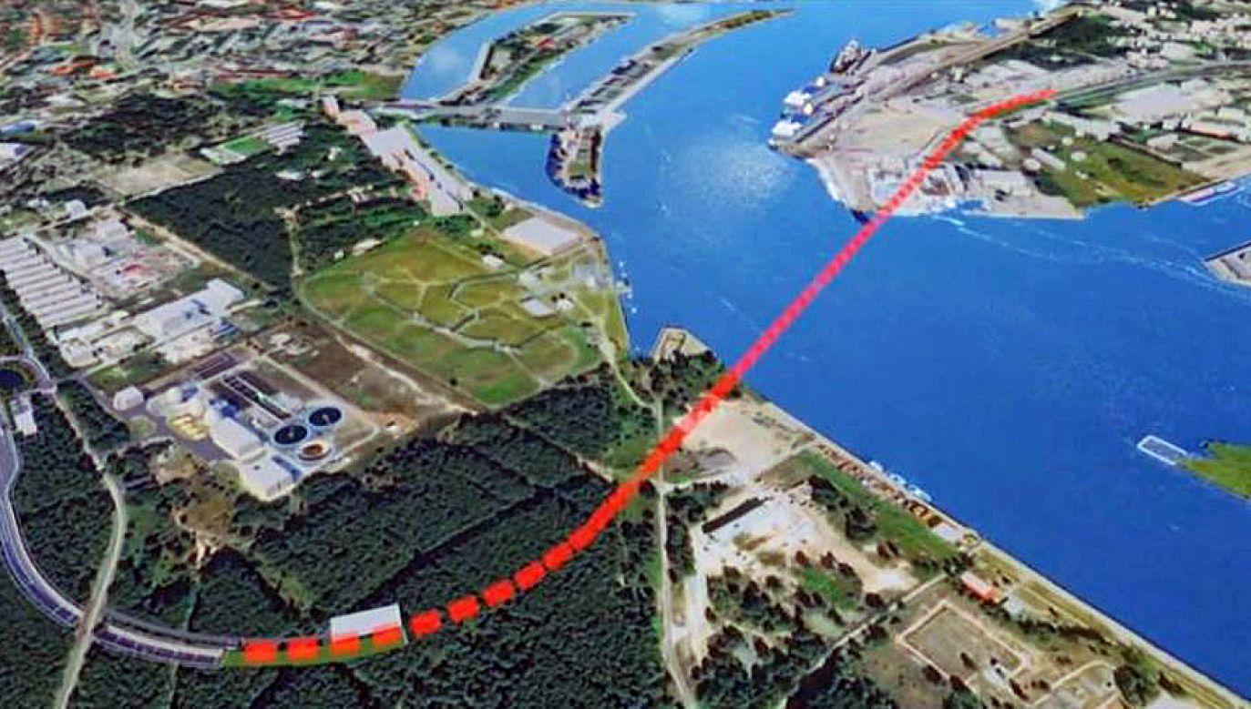 Drążenie tunelu rozpocznie się za dwa lata (fot. TVP3 Szczecin)