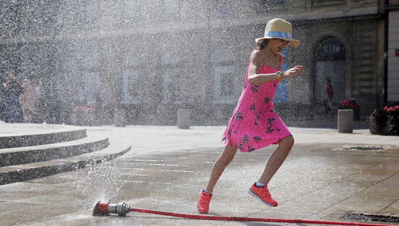 Temperatury mogą osiągnąc nawet 30 st. (fot. arch.PAP/Tomasz Gzell)
