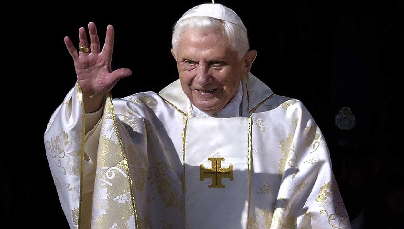 Benedyktowi XVI bardzo szybko udało się wyjść z cienia swojego poprzednika (fot. Grzegorz Galazka\Mondadori Portfolio/Getty Images)