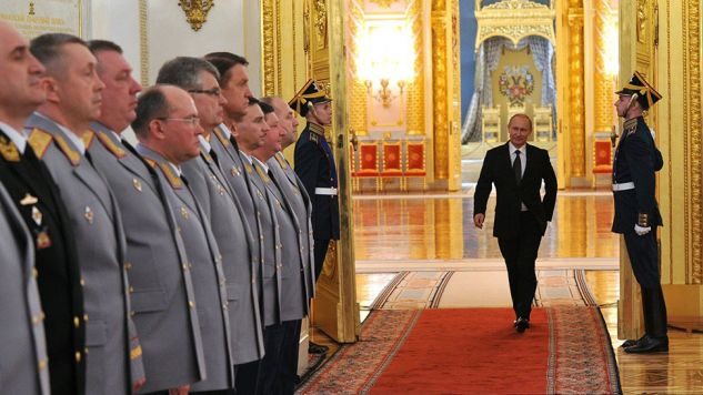 Okazuje się, że Putin to nie jedna osoba, a dziesiątki, a może nawet setki ludzi (fot. Getty Images)