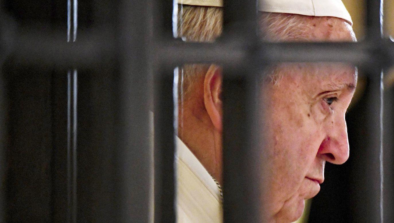 Papież Franciszek (fot. PAP/EPA/CIRO FUSCO)