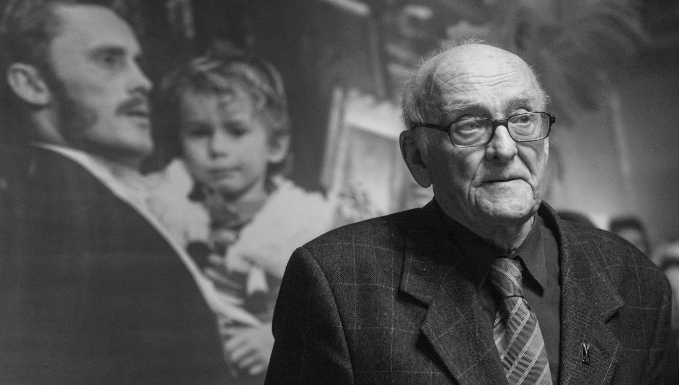 Late Witold Sobociński in 2015. Photo: PAP/Grzegorz Michałowski