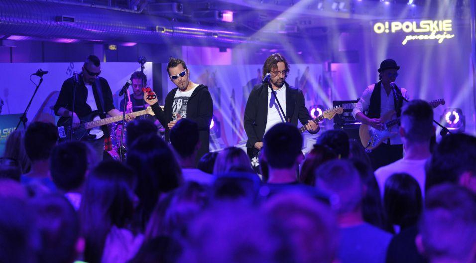Wśród zaproszonych gwiazd pojawił się zespół Oddział Zamknięty (fot. Natasza Młudzik/TVP)