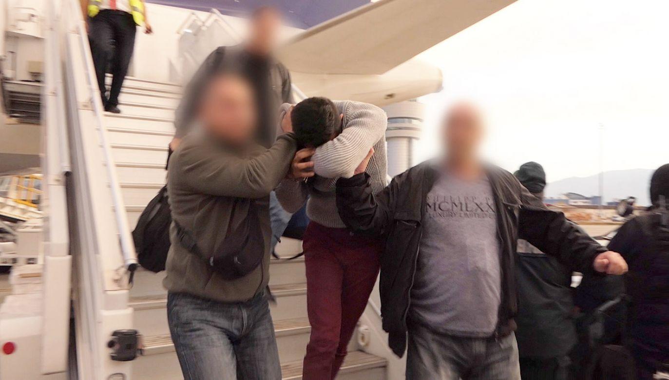 Sewerin Krasimirow przyznał się do winy (fot. PAP/EPA/BULGARIAN INTERNAL MINISTRY)