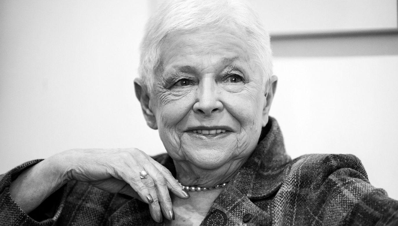 Krystyna Grzybowska 1940-2018 (fot. arch.PAP/Marcin Obara)