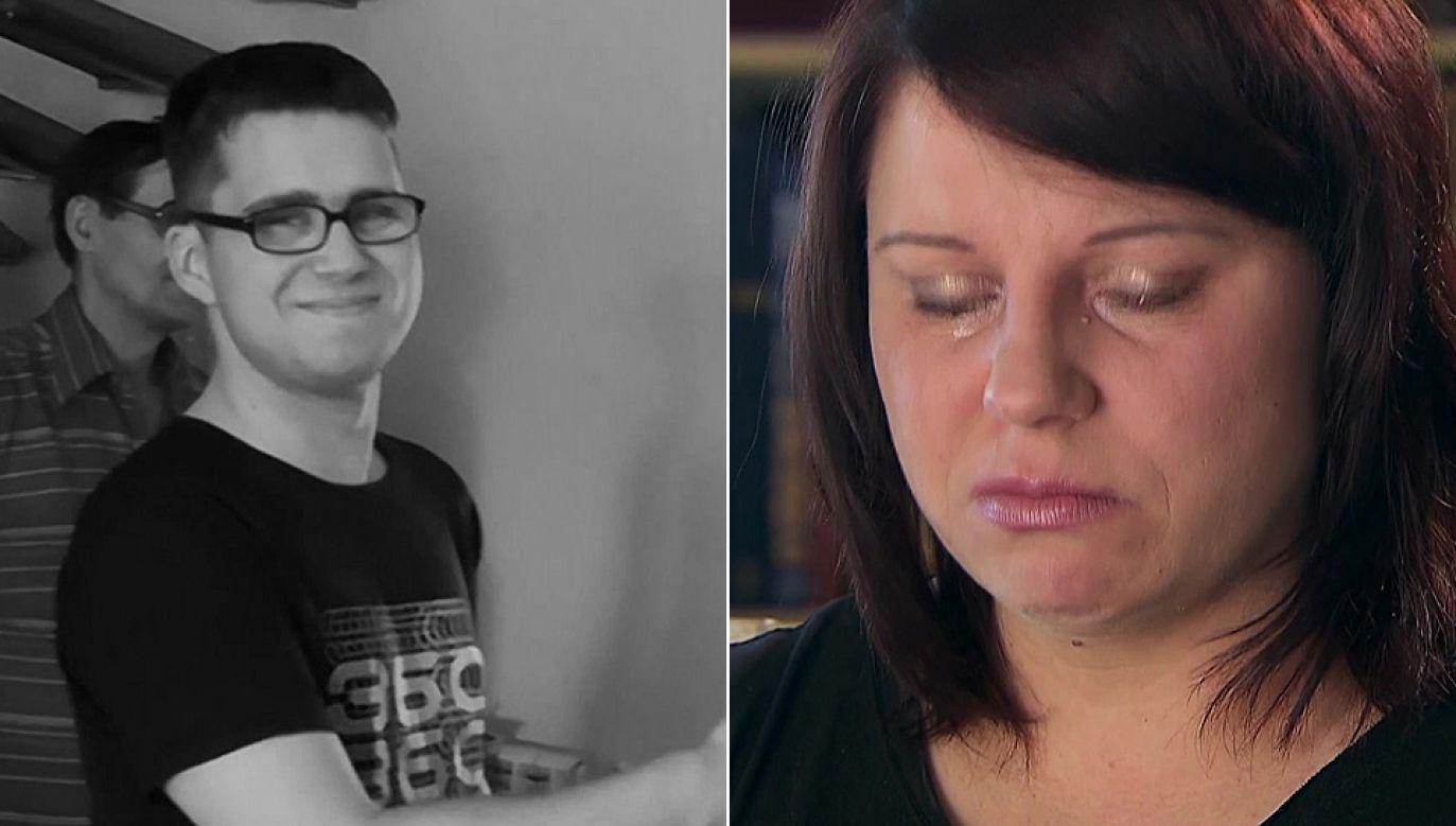 Magdalena Czepirska opowiedziała o bólu po stracie syna (fot. TVP1)