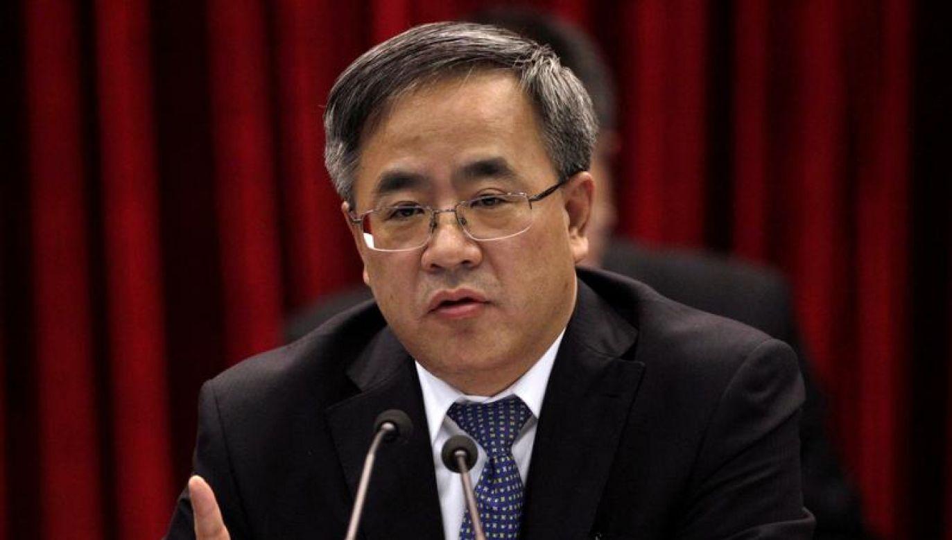Spotkanie ma się teraz odbyć na znacznie niższym szczeblu (REUTERS/Iris Zhao/File Photo)