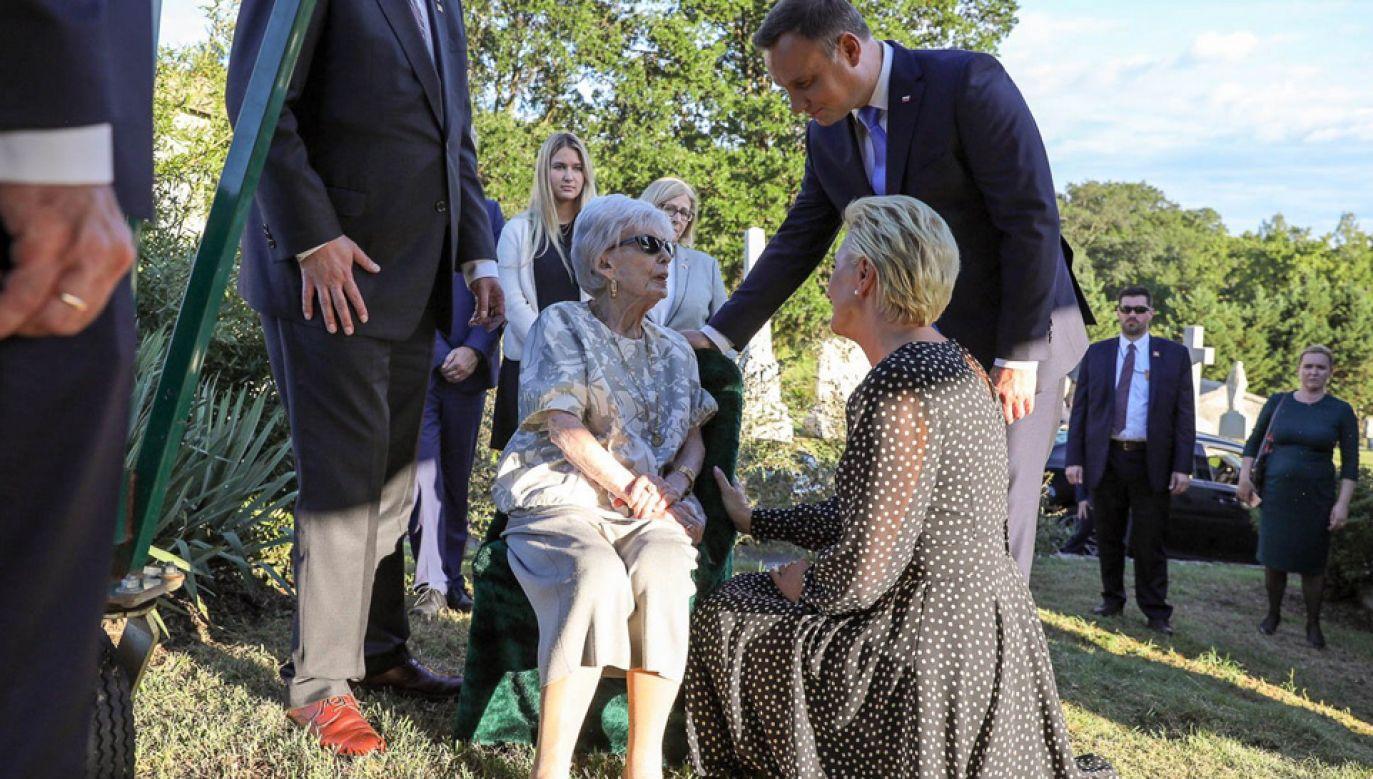 Para prezydencka podziękowała Polonii za podtrzymywanie tradycji (fot. TT/Prezydentpl)