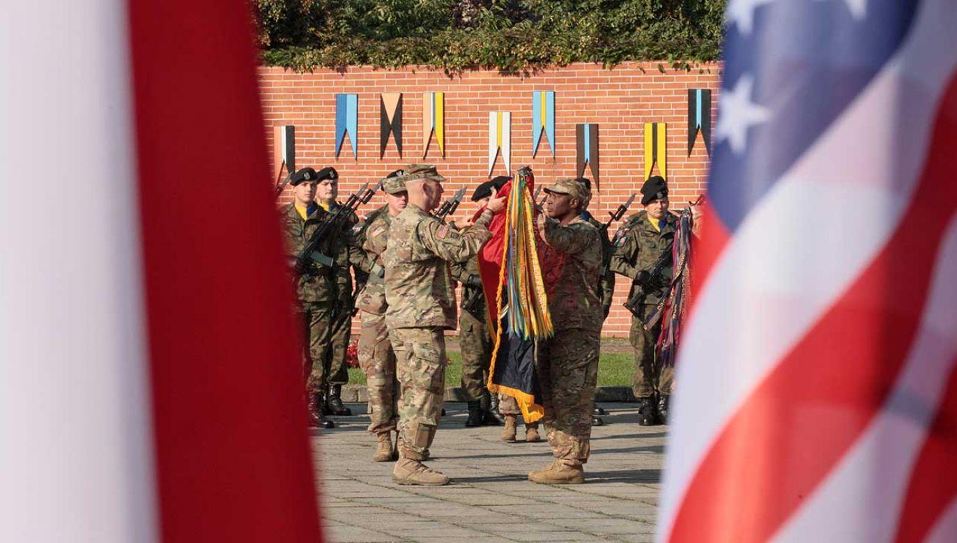 Rozmieszczenie wojsk USA w Polsce jest całkowicie zgodne z naszymi zobowiązaniami – zapewnia ambasada (fot. arch. PAP/Lech Muszyński)