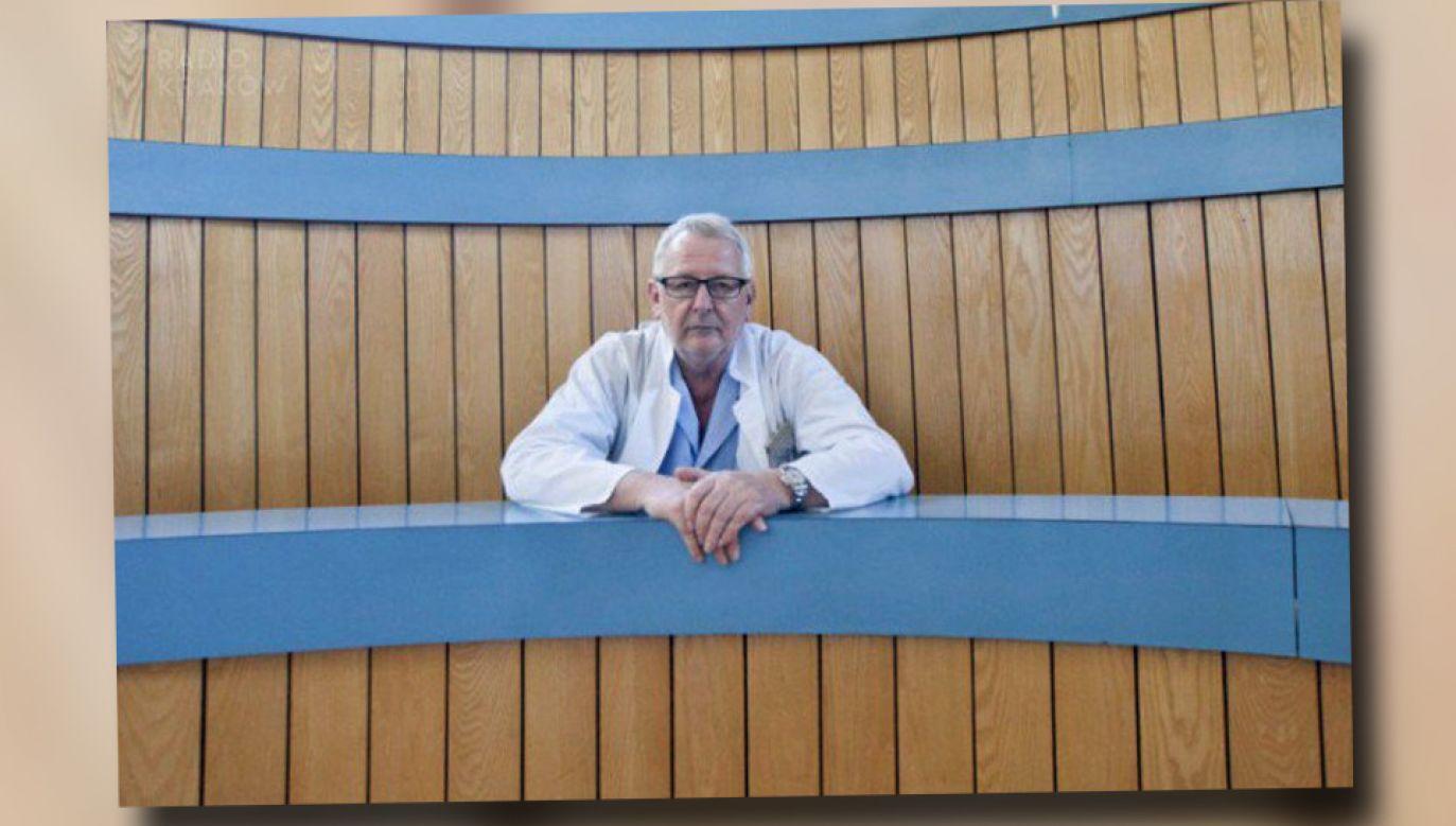 Andrzej Matyja został  prezesem Naczelnej Rady Lekarskiej (fot. źródło: TT/Radio Kraków)