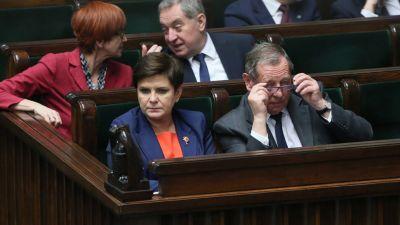d3dea45c19437 Rozpoczynająca debatę posłanka Lenartowicz krytykowała szefa resoru  środowiska za poselską nowelę ustawy
