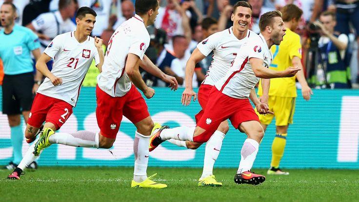 Jakub Błaszczykowski (P) podczas Euro 2016 (fot. Getty)