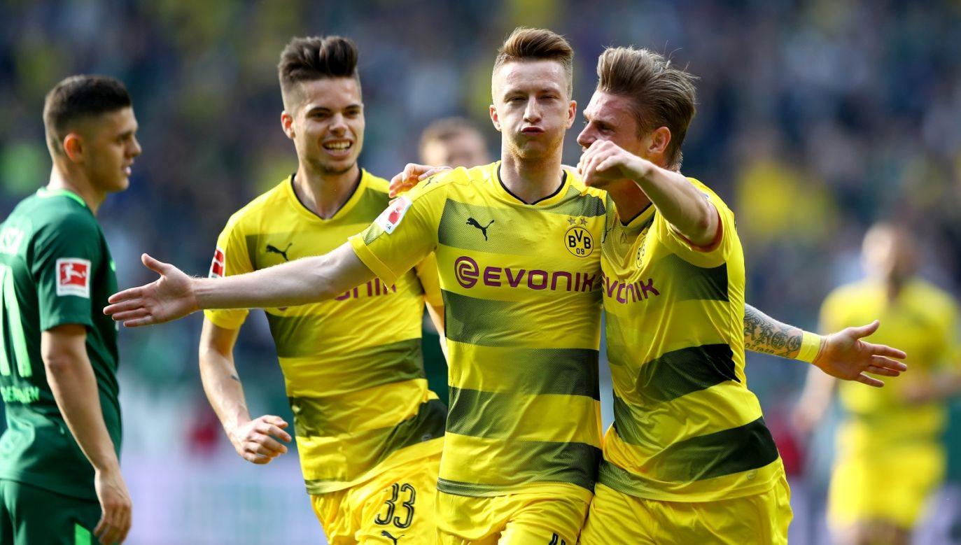 Piłkarze Borussii Dortmund (fot. Getty Images)
