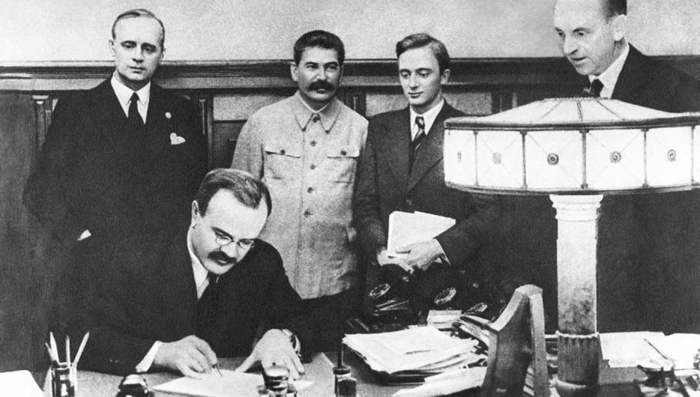 Pakt Ribbentrop-Mołotow został podpisany 17 września 1939 roku (fot. arch. PAP/ITAR-TASS/Nikolai Akimov)