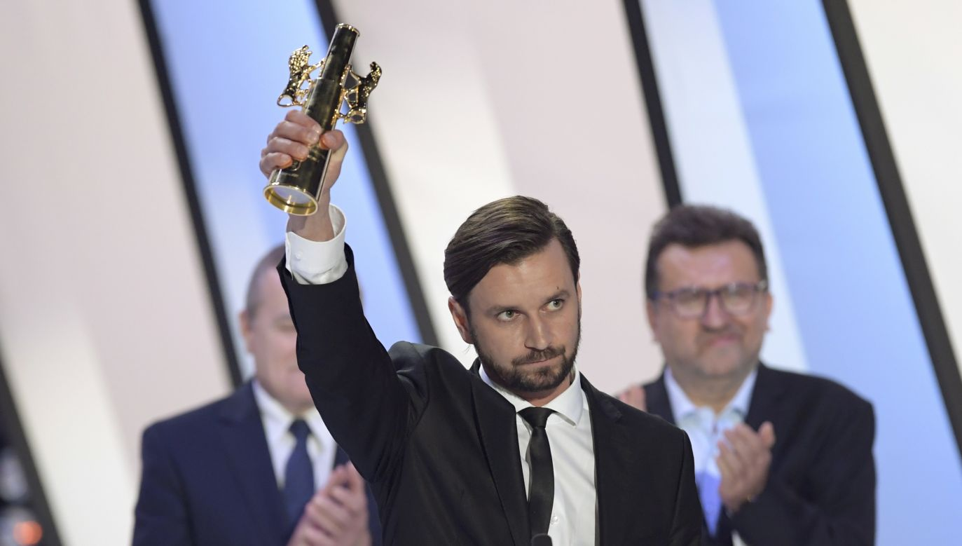 Polish director Piotr Domalewski, winner of the Golden Lions for Best Film with