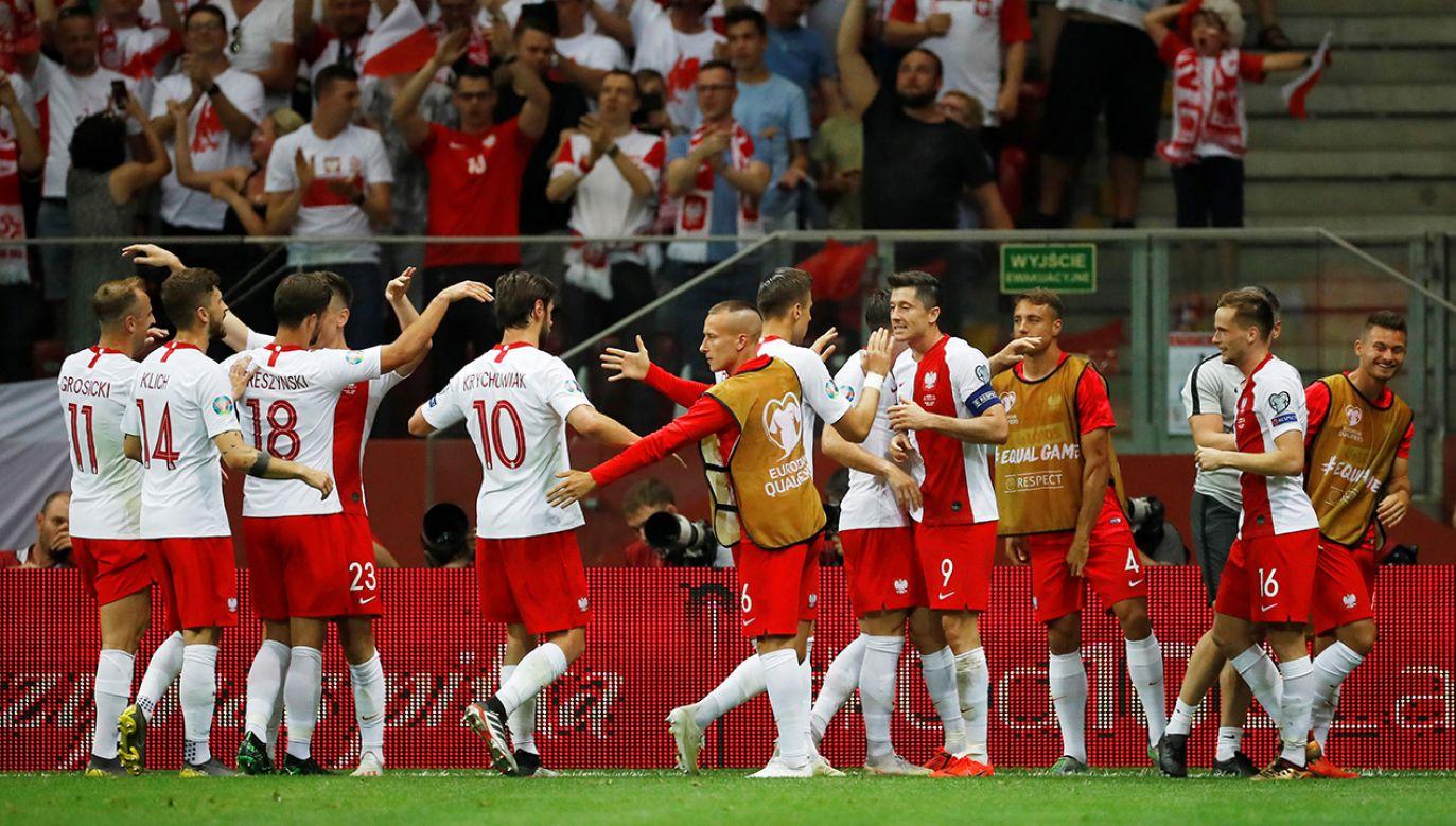 Euro 2020 - Grupa G - Polska przeciwko Izraelowi - Stadion Narodowy Warszawa (fot. REUTERS/Kacper Pempel)