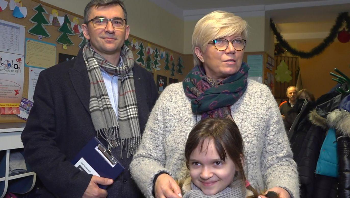 """""""Babcia zatrzymuje ten czas, daje nam wytchnienie"""" (fot. portal tvp.info)"""