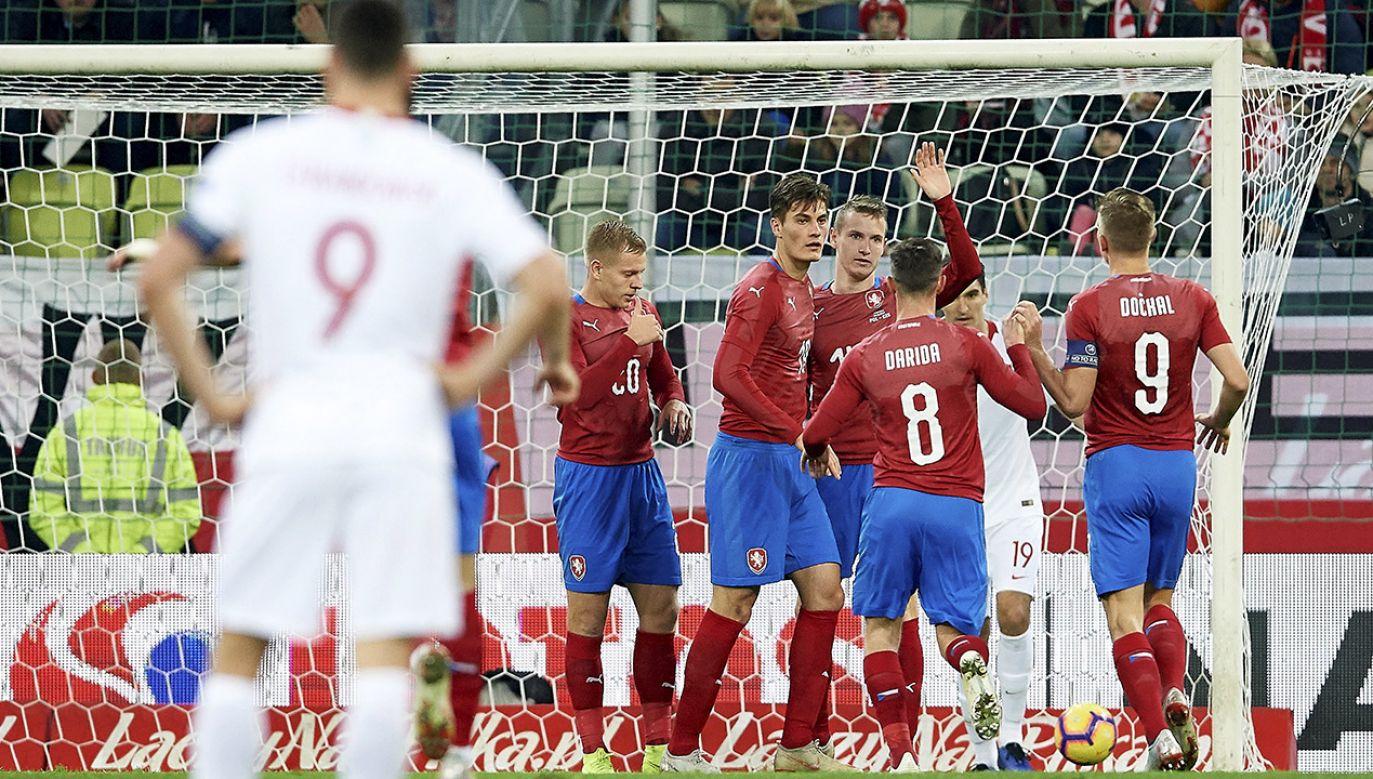 Biało-Czerwoni pod wodzą Jerzego Brzęczka nie wygrali jeszcze żadnego spotkania (fot. PAP/Adam Warżawa)