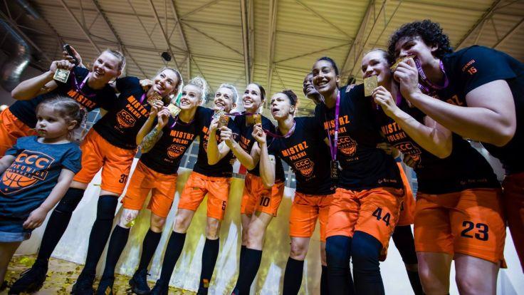 Koszykarki CCC Polkowice (fot. materiały prasowe)