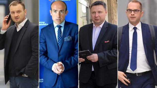 Posłowie PO często publikują kontrowersyjne wpisy na potalach społecznościowych (fot. arch.PAP/Leszek Szymański/Darek Delmanowicz/Marcin Obara/Bartłomiej Zborowski)