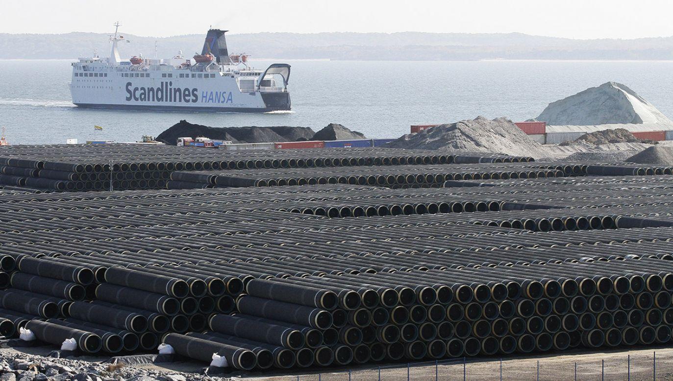 """""""Gazociąg Baltic Pipe jest realizacją tego, co przyświeca unii energetycznej"""" (fot. REUTERS/Tobias Schwarz)"""