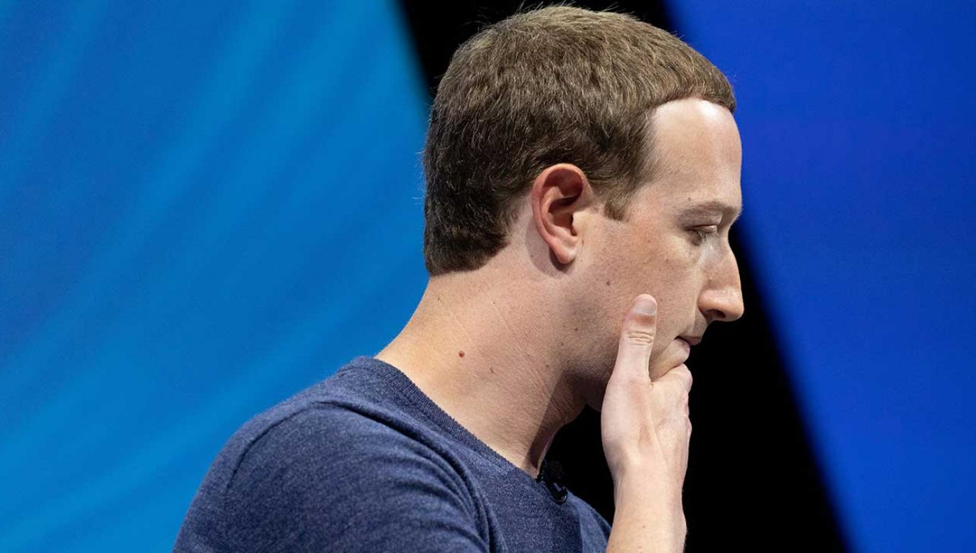 Pomysł zastąpienia Zuckerberga niezależnym CEO ma raczej symboliczny charakter (fot. Christophe Morin/IP3/Getty Images)