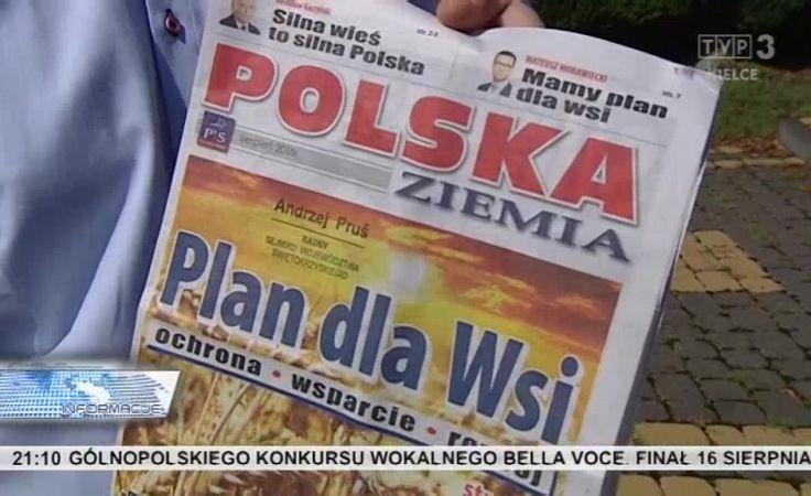 Nadzwyczajna konwencja PiS  w sprawie rolnictwa w Sandomierzu