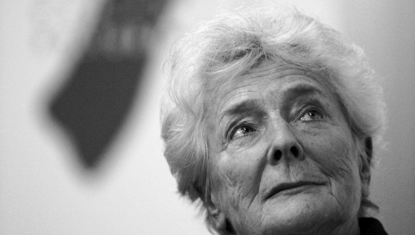 Olga Krzyżanowska was 89. Photo: PAP/Roman Jocher