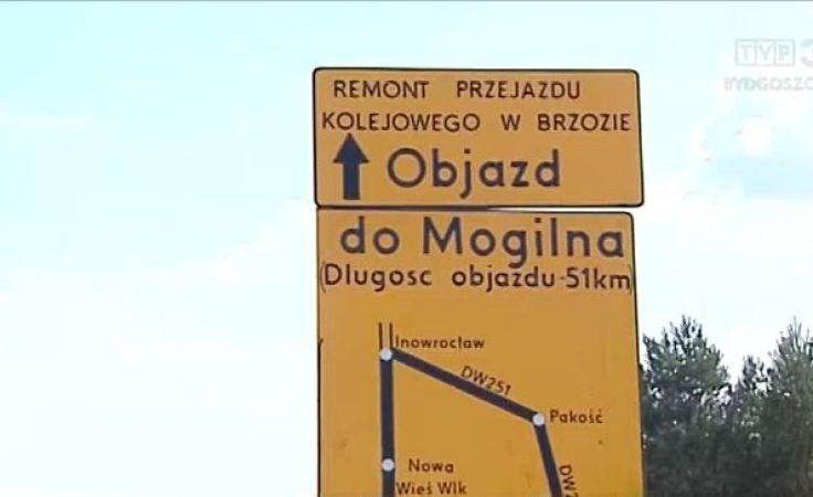 Rozpoczął się remont przejazdu kolejowego w Brzozie koło Bydgoszczy