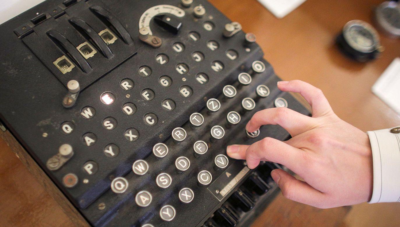 Urządzenie przypominające maszynę do pisania zostało skonstruowane w latach 20. ubiegłego wieku (fot. Inquam Photos/Octav Ganea/via REUTERS)