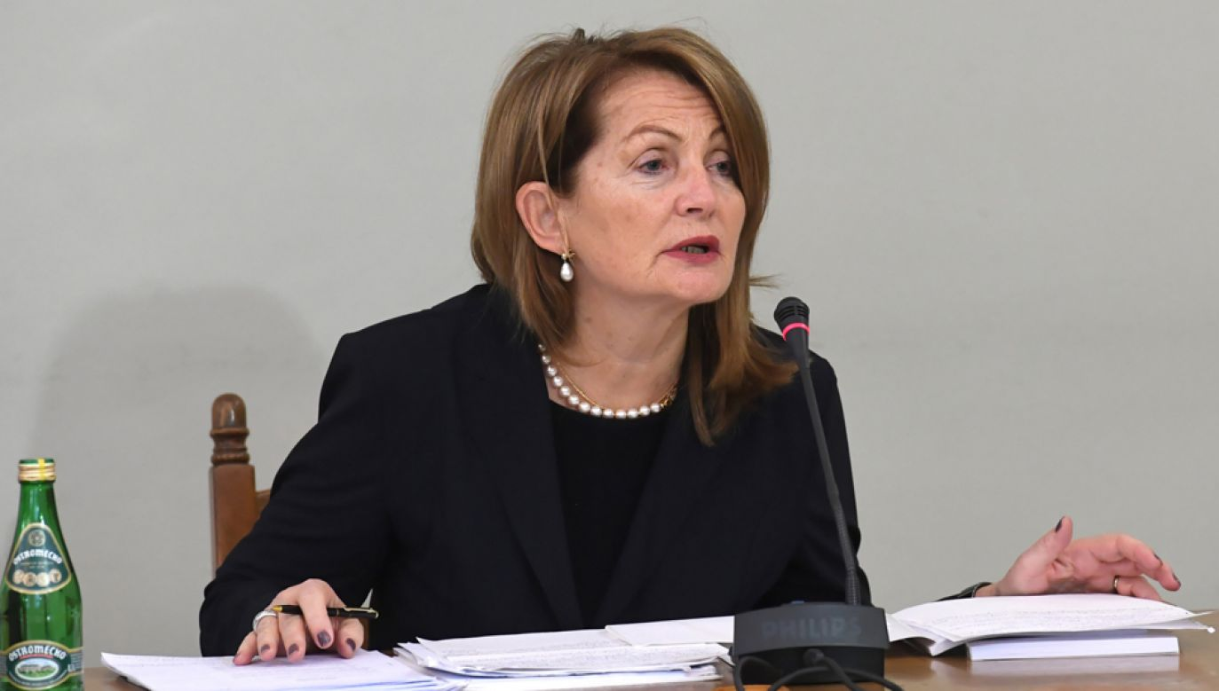 Była podsekretarz stanu w Ministerstwie Finansów Elżbieta Chojna-Duch (fot. PAP/Piotr Nowak)