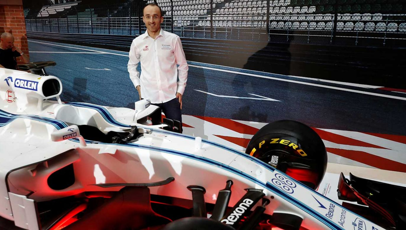 Robert Kubica wraca do rywalizacji w mistrzostwach świata Formuły 1 po ponad ośmiu latach (fot. REUTERS/Kacper Pempel)