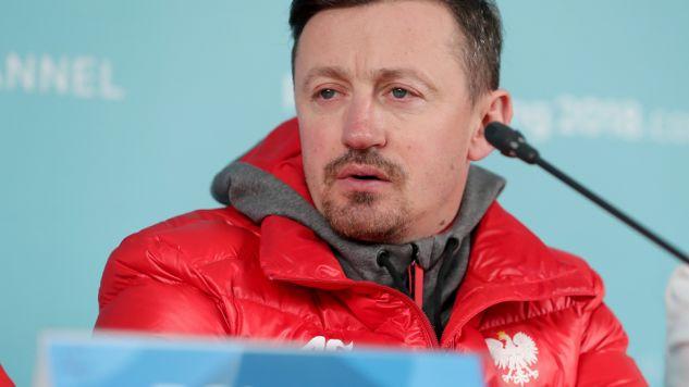 Adam Małysz w Pjongczangu udzielił wywiadu dla TVP