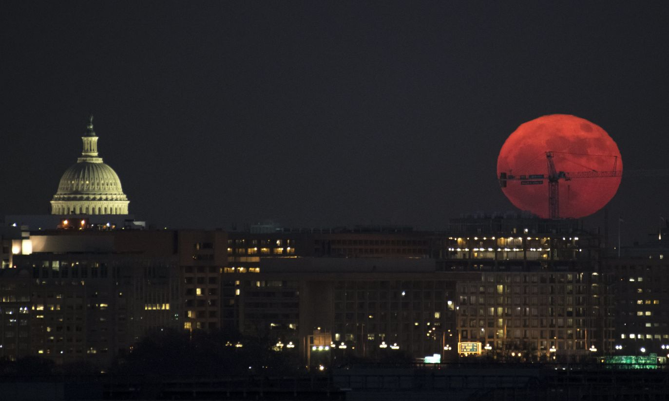 Waszyngton (fot. PAP/EPA/NASA/Bill Ingalls)