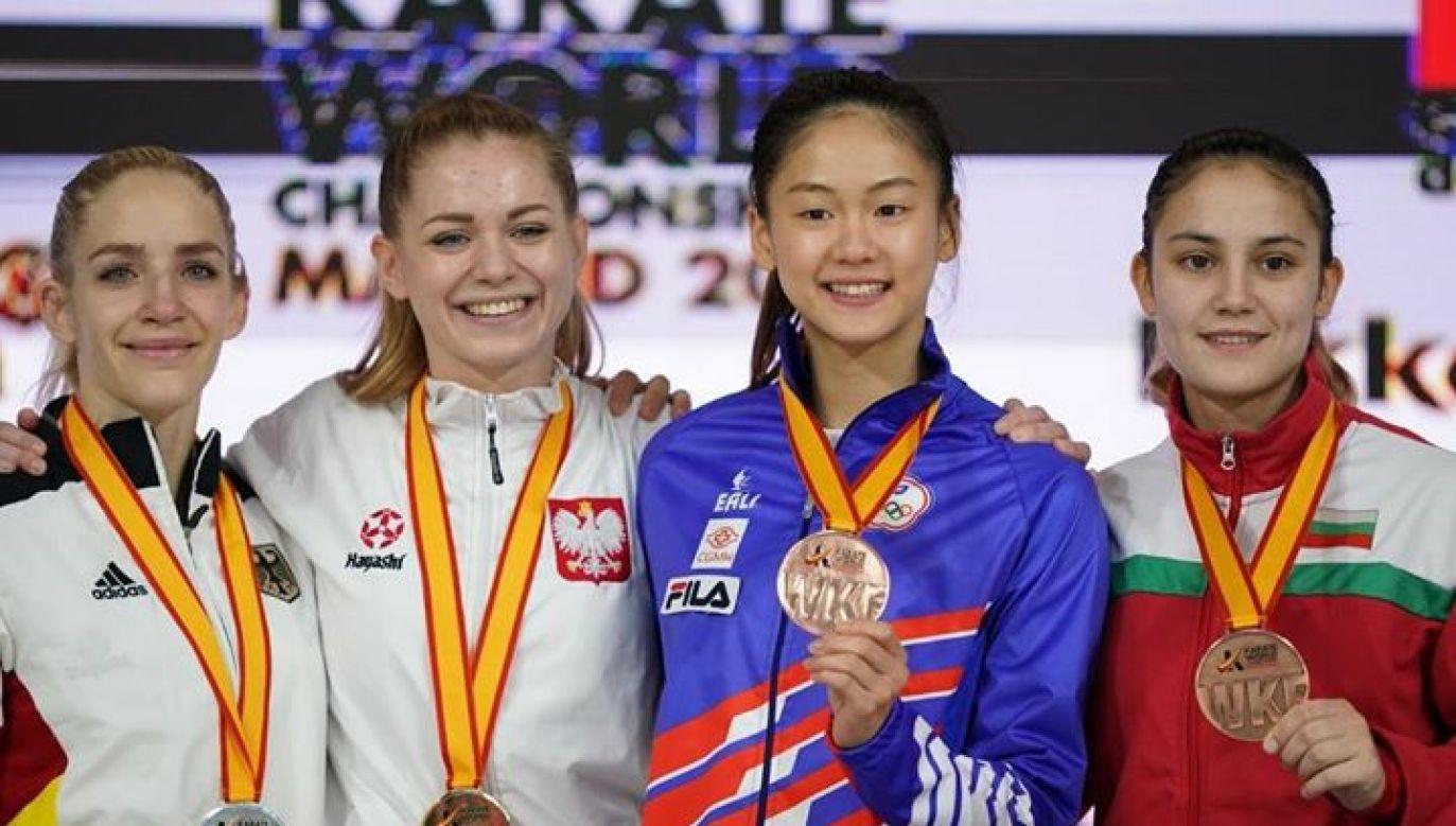 W finale rywalizacji Karate Kumite do 55 kg, Polka pokonała Niemkę Janę Bitsch (Xavier Servolle / Polska Unia Karate)