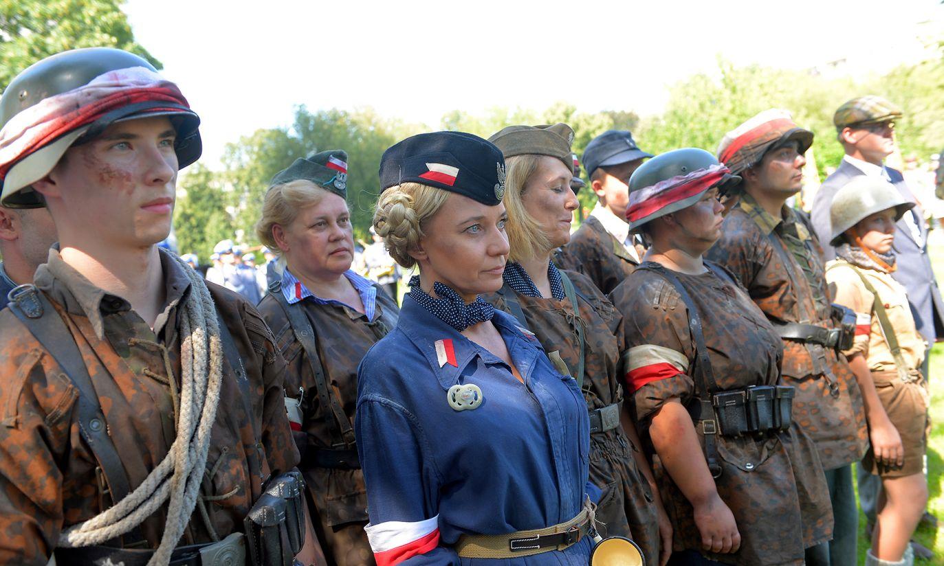 Marsz Mokotowa  (fot. PAP/Stach Leszczyński)