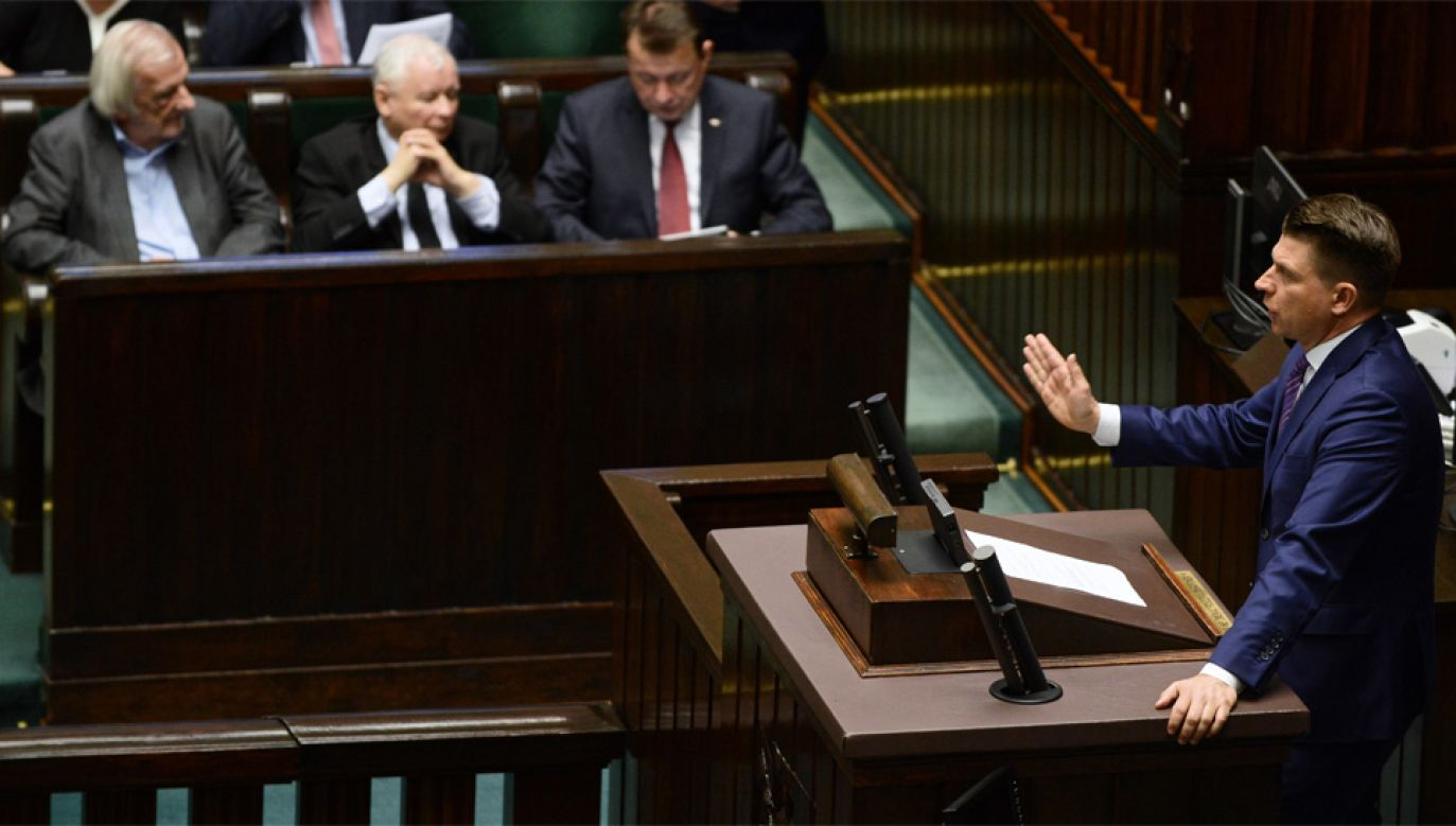 Ryszard Petru opowiada się za prywatyzację telewizji publicznej (fot. PAP/Jakub Kamiński)