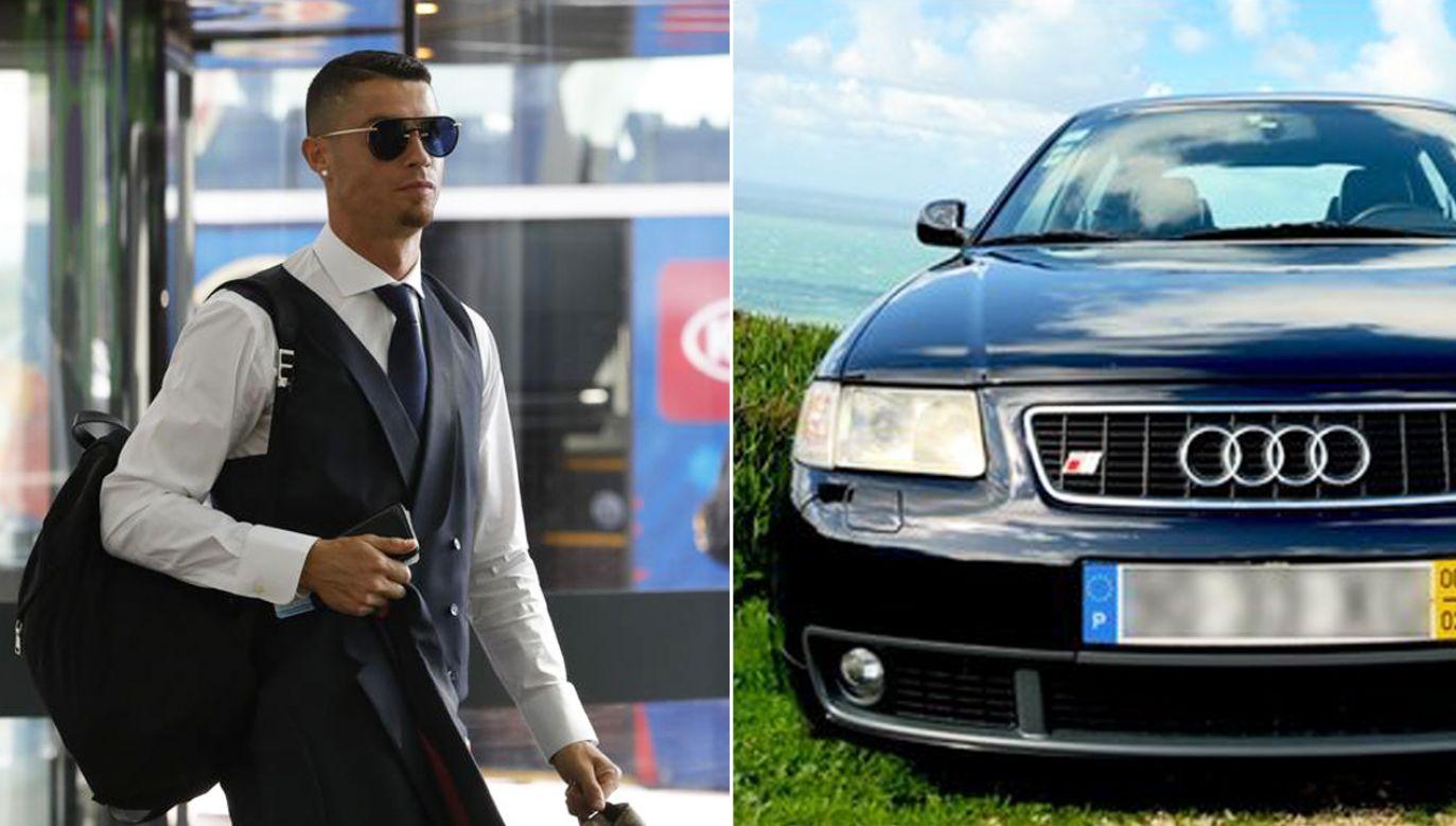 Każdy może zostać posiadaczem pierwszego auta piłkarza (fot. REUTERS/Tatyana Makeyeva/ronaldofirstcar.com)