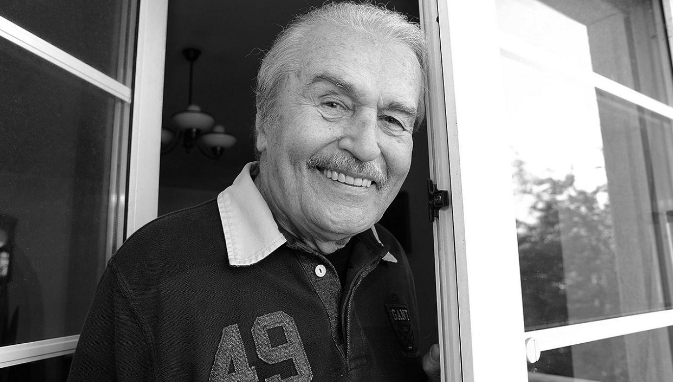 Ostatnie lata życia aktor spędził w Domu Artystów Weteranów w Skolimowie (fot. arch.PAP/Andrzej Rybczyński)