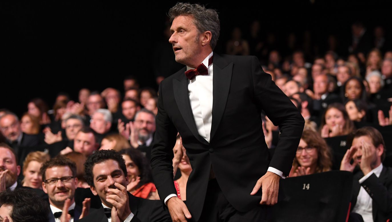 Director Pawel Pawlikowski received the Best Director award for Cold War at the Cannes Film Festival in France in May 2018. Photo: Pascal Le Segretain/Getty Images