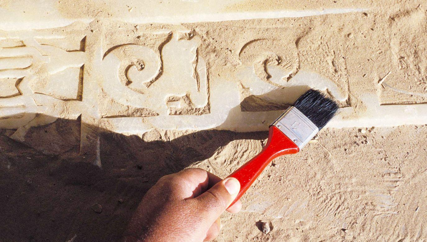 Archeolodzy z UJ badają ruiny starożytnego miasta w Nakum już od kilkunastu lat (fot. Pool DEVILLE/AFSM/Gamma-Rapho via Getty Images, zdjęcie ilustracyjne)