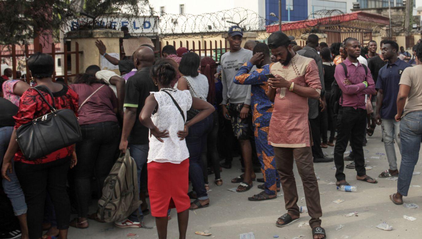 W Nigerii odbędą się wybory prezydenckie i parlamentarne (fot. PAP/EPA/JAYDEN JOSHUA)