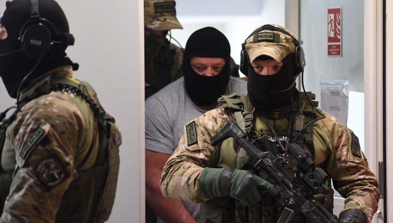 Jarosław Ł. ps. Masa pozostaje w areszcie od maja ubiegłego roku (fot. arch.PAP/Wojciech Pacewicz)