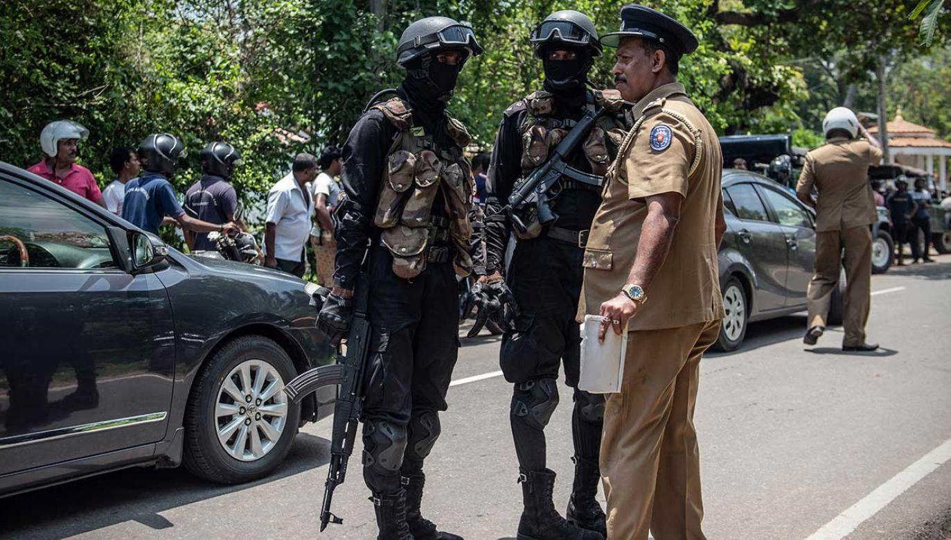 Jak poinformował rzecznik policji, do wybuchu doszło w okolicach sądu (fot. Carl Court/Getty Images)