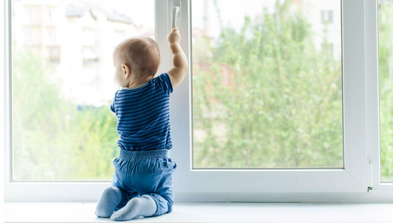 Dziecko na szczęście posłuchało próśb policjanta (fot. Shutterstock/Oksana Shufrych)