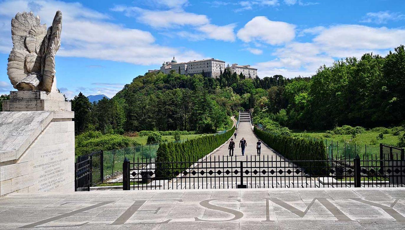 Klasztor na Monte Cassino (fot. Radosław Poszwiński/portal tvp.info)