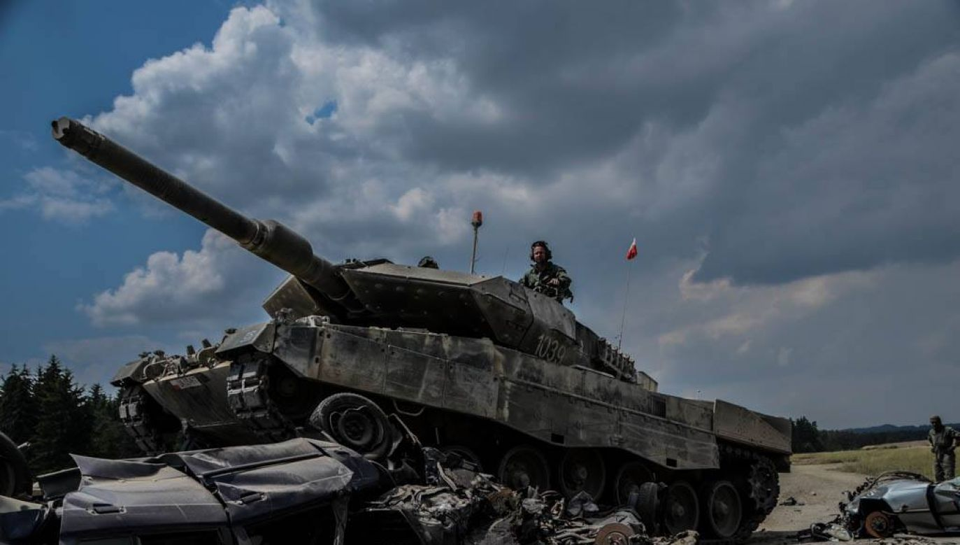 Polish crew during the Strong Europe Tank Challenge. Photo: 2nd Lt. Magdalena Czekatowska / 34th Armored Cavalry Brigade
