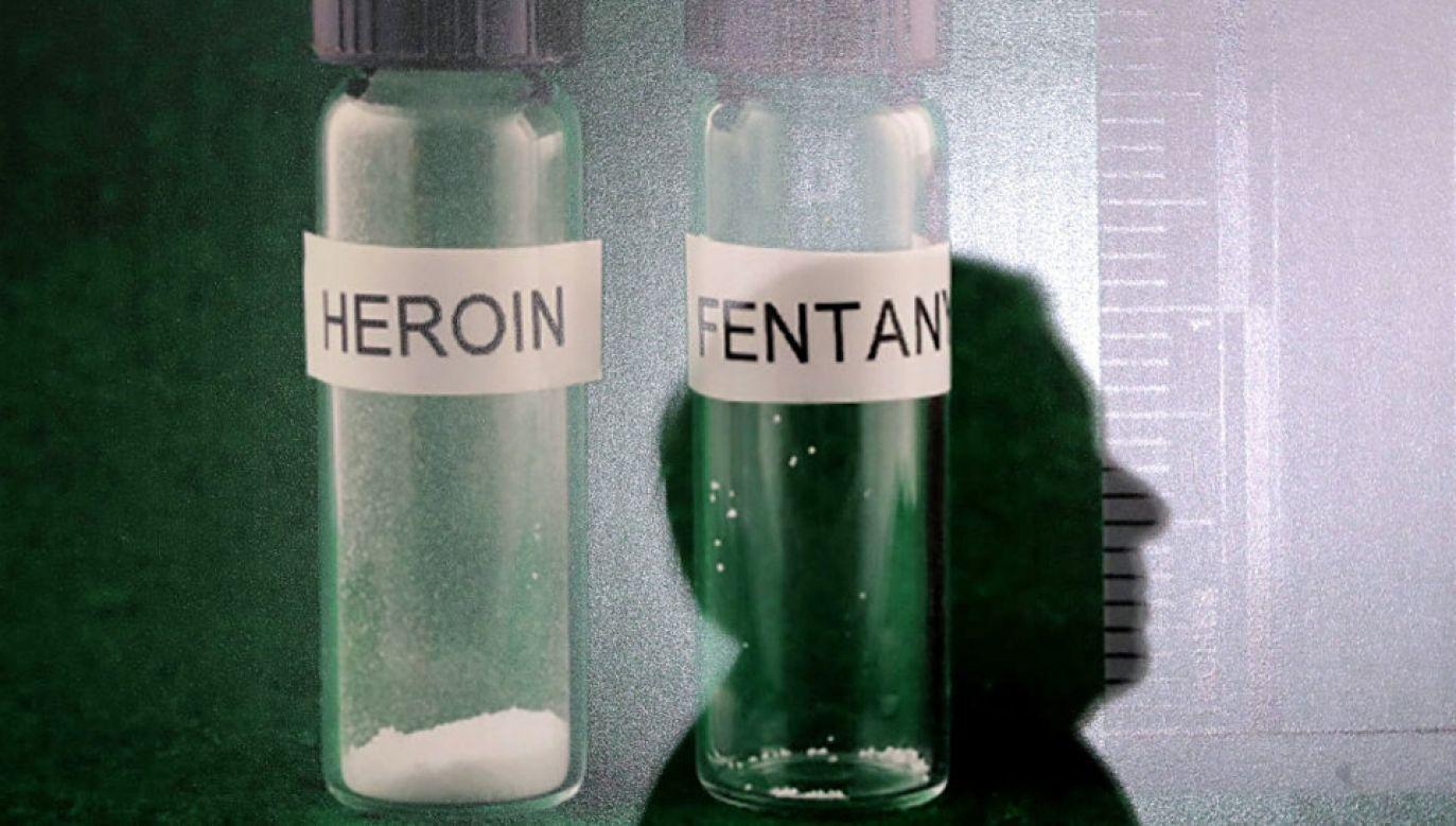 Śmiertelna dawka fentanylu jest o wiele mniejsza niż w przypadku heroiny (fot. Chip Somodevilla/Getty Images)